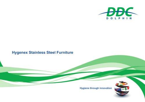 Hygenex stainless steel furniture