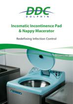 Incomatic Incontinence Pad & Nappy Macerator
