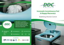 Incomatic incontinence product macerator
