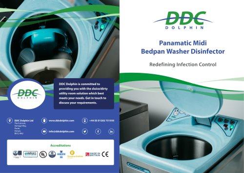 Panamatic Midi bedpan washer disinfector