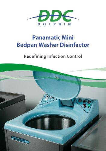 Panamatic Mini Bedpan Washer Disinfector