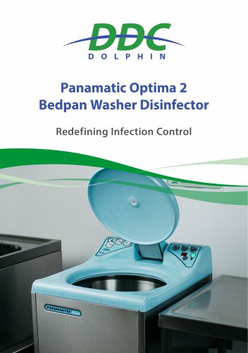 Panamatic Optima 2 Bedpan Washer Disinfector