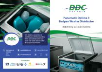 Panamatic Optima 3 bedpan washer disinfector