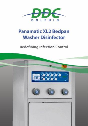Panamatic XL2 Bedpan Washer Disinfector