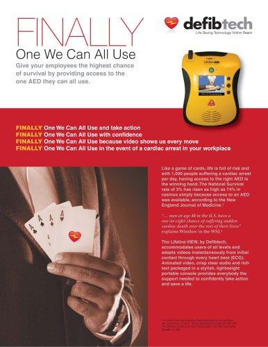 Lifeline VIEW AED Brochure