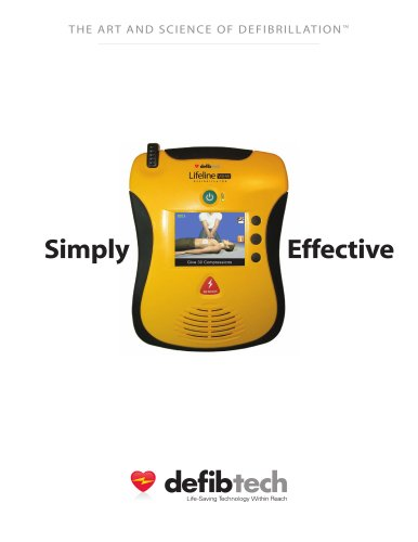 Lifeline VIEW AED Product Brochure