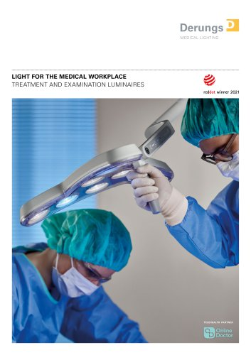 LIGHT FOR THE MEDICAL WORKPLACE