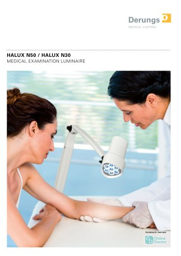 MEDICAL EXAMINATION LIGHTS Halux N50 / Halux N30