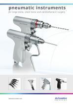 pneumatic instruments