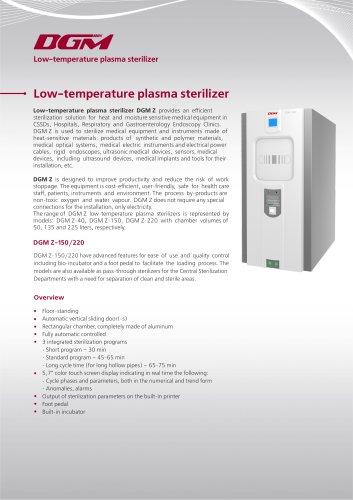 DGM Z-150/220 Low-temperature plasma sterilizer
