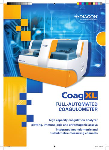 CoagXL - Automatic Coagulation Analyzer