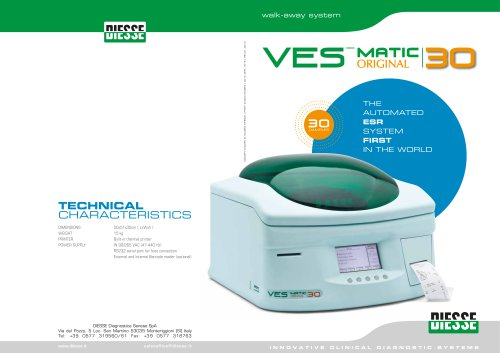 VES-MATIC 30