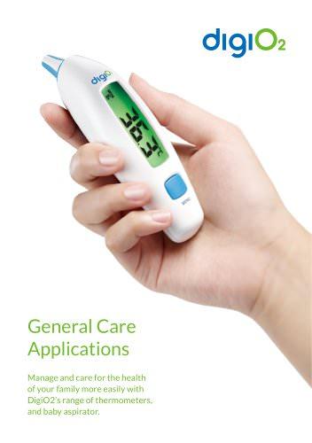 DigiO2 General Care Applications