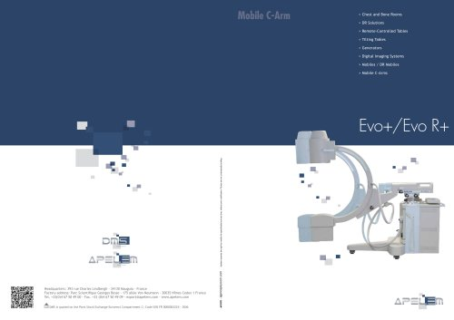 GAMME ARCEAUX - C-ARM