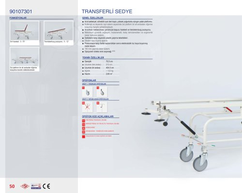 90107301 STRETCHER TRANSPORT