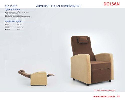 90111302 ARMCHAIR FOR ACCOMPANIMENT