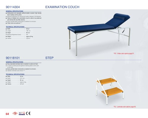 90114304 EXAMINATION COUCH