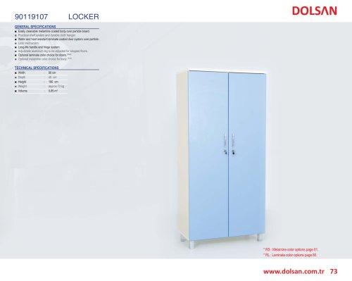 90119107 LOCKER