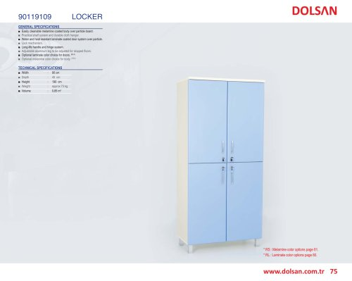 90119109 LOCKER