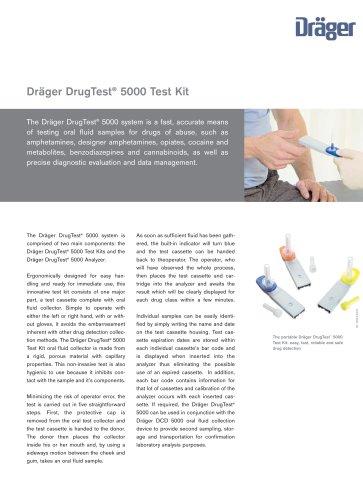 Dräger DrugTest® 5000 Test Kit