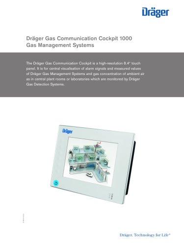 Dräger Gas Communication Cockpit 1000