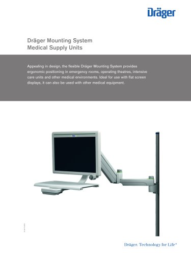 Dräger Mounting System Medical Supply Units