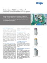 Dräger Vapor ® 2000 and D-Vapor ®