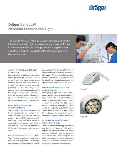 Dräger VarioLux® Neonatal Examination Light