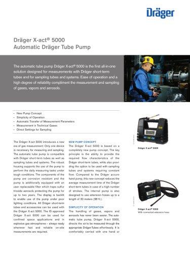Dräger X-act ® 5000