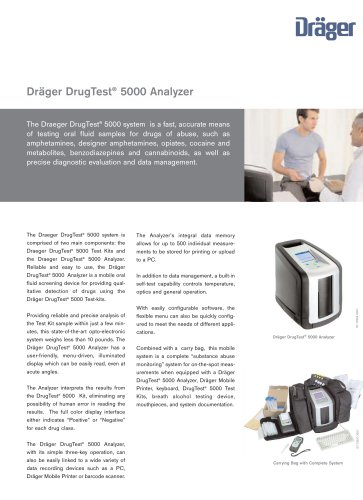 Dräger DrugTest® 5000 Analyzer