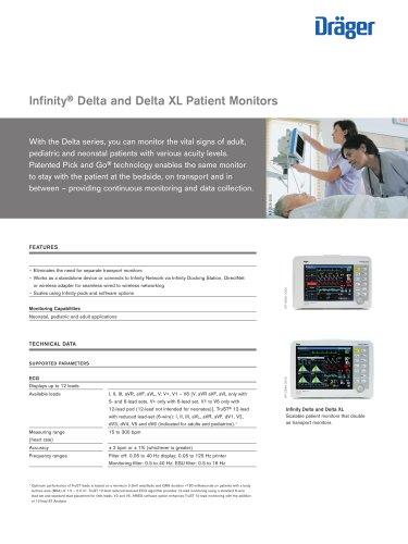 Infinity® Delta and Delta XL Patient Monitors
