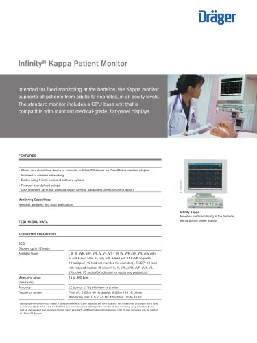 Infinity ® Kappa Patient Monitor