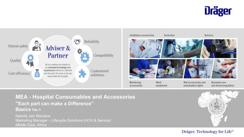 MEA - Hospital Consumables and Accessories