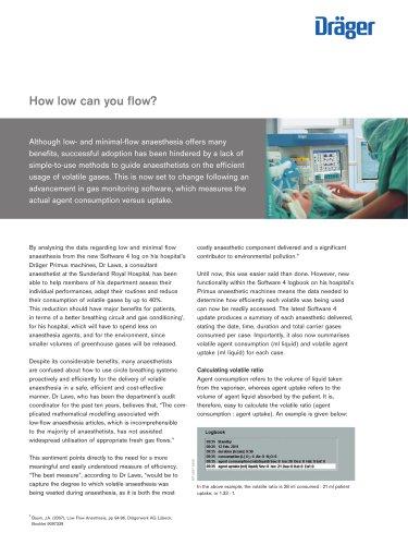 minimal-flow anaesthesia