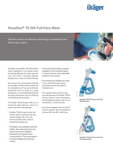 NovaStar® TS NIV Full-Face Mask
