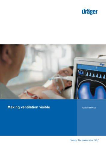 Ventilation monitor PulmoVista 500 - EN