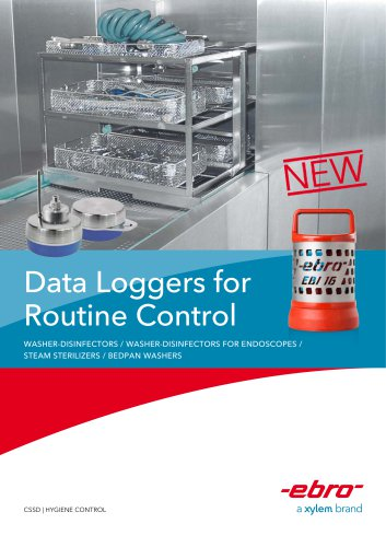Data Loggers for Routine Control
