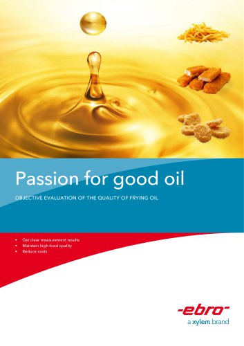 Passion for good oil