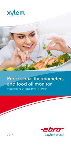 Professional thermometers and food oil monitor