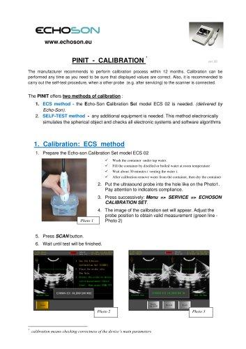 PINIT   - CALIBRATION