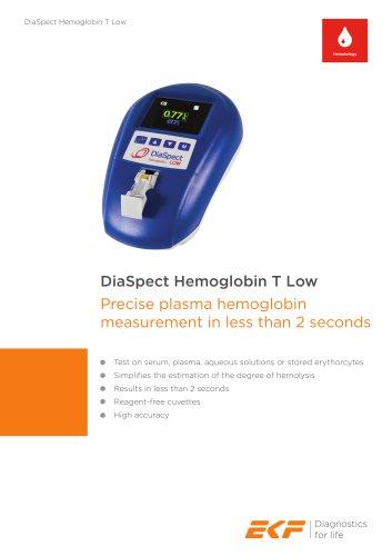 DiaSpect Hemoglobin T Low