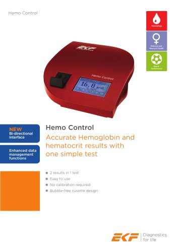 Hemo Control Product Sheet (English)