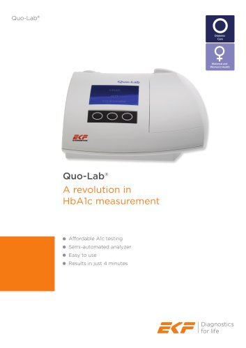Quo-Lab Product Sheet (English)