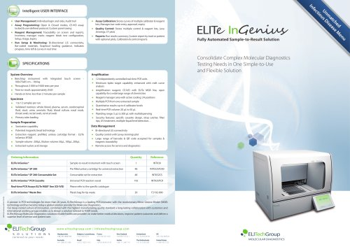 ELITe InGenius® Brochure