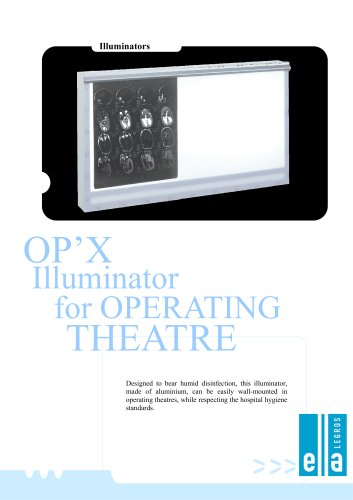 Op'X - X-ray film viewer for operating room