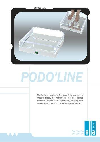 Podo'line podoscope