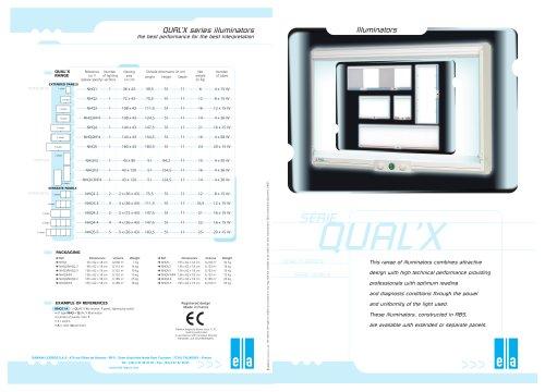 Qual'X - X-ray film viewer