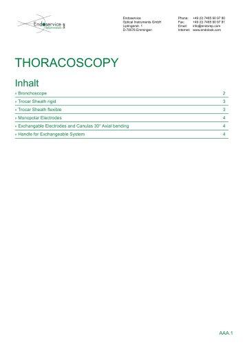 Torachoscopy