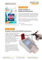 Insulation Tester - DIATEG professional