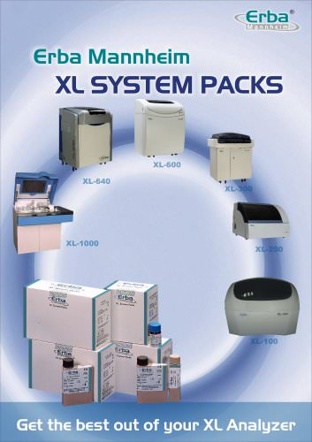 Erba XL SYSTEM PACKS